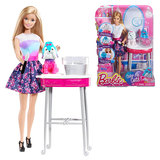 Color Me Cute Barbie Doll Salon Playset