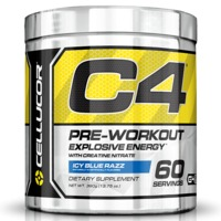 Cellucor C4 Gen4 Pre-Workout - Blue Raspberry (60 Servings)