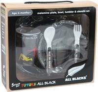 Antics: All Blacks - Children's Melamine Set