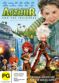 Arthur And The Invisibles on DVD image