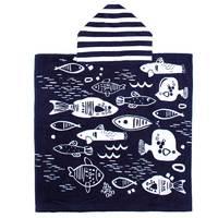 Bambury Printed Poncho Pal (Fishy Wishy)