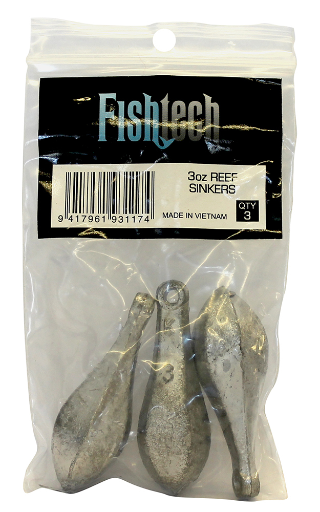 Fishtech Reef Sinkers 3oz (3 per pack) image