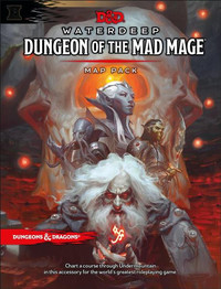 D&D Waterdeep: Dungeon of the Mad Mage - Map Pack
