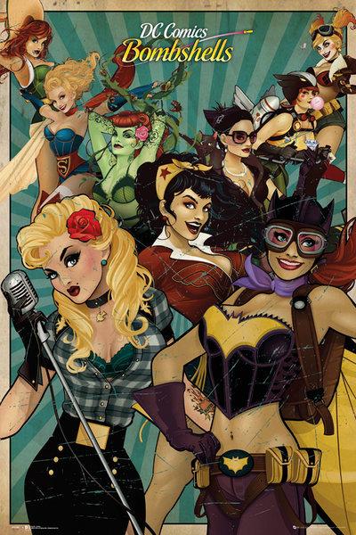 DC Comics Maxi Poster - Bombshells (336)