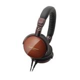 Audio Technica Portable Wooden On-Ear Headphones