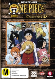 One Piece (Uncut): Collection 42 (Eps 505 - 516) DVD
