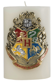 Harry Potter: Sculpted Insignia Candle -Hogwarts