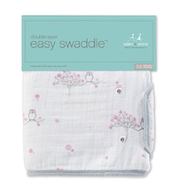 Aden + Anais: Classic Easy Swaddle - For the Birds (Small/Medium)