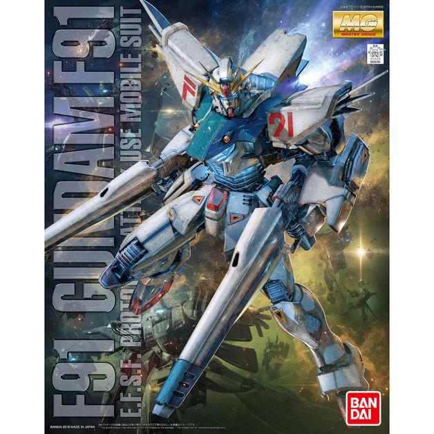 MG 1/100 Gundam F91 Ver.2.0 - model Kit