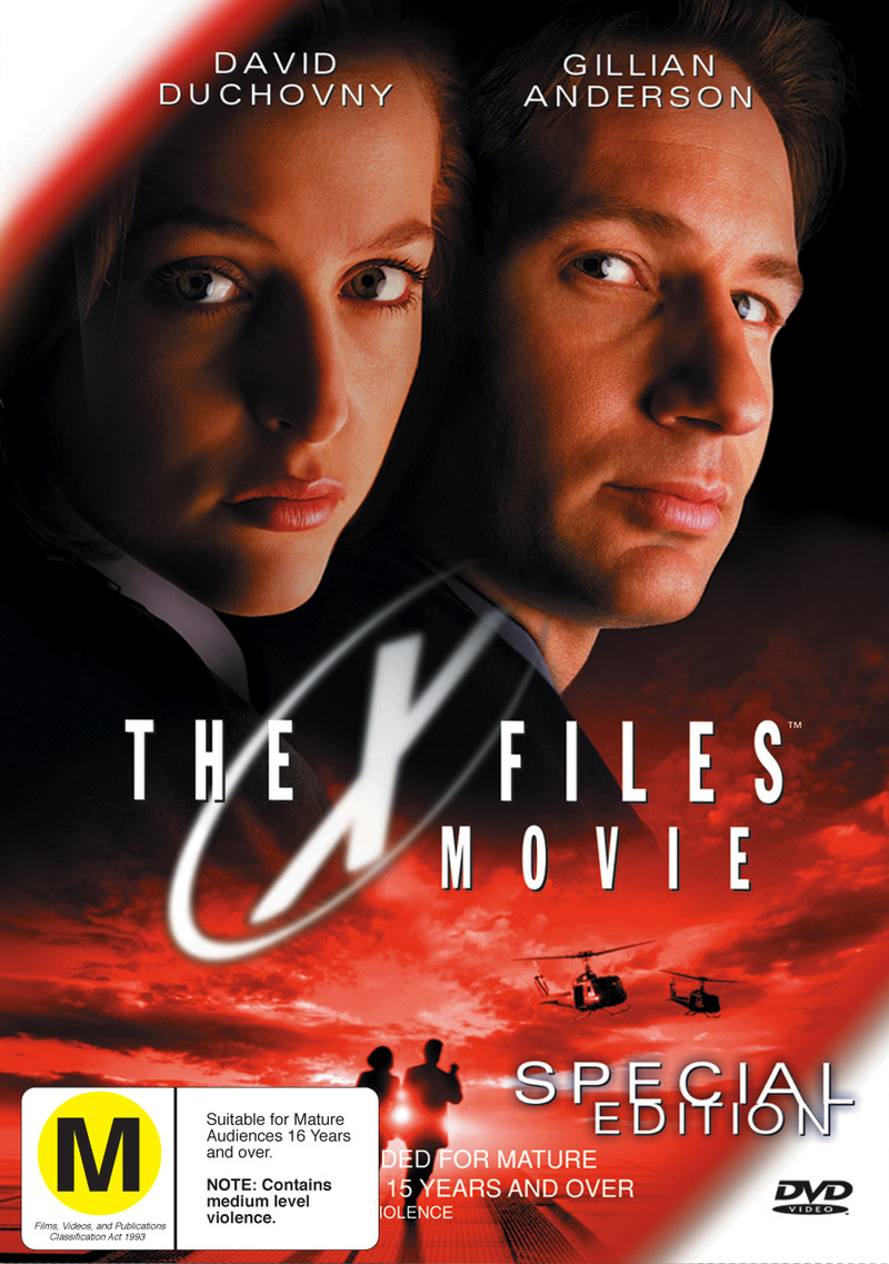 X Files, The - The Movie: Special Edition on DVD image