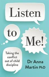 Listen to Me! by Dr Anna Martin image