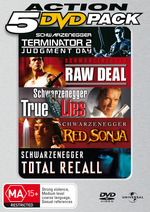 Arnie Action Value Pack (5 Disc) on DVD