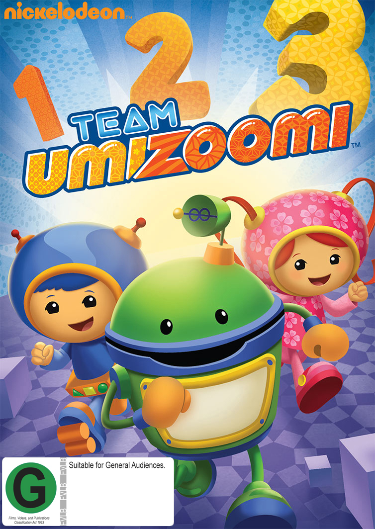 Team Umizoomi on DVD image