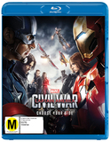 Captain America: Civil War on Blu-ray