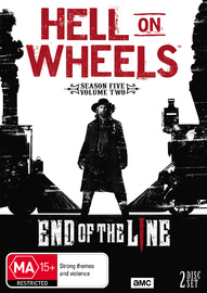 Hell on Wheels: Season Five - Part 2 DVD