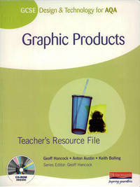 GCSE Design and Technology for AQA: Graphic Products Student Book by Keith Bolling image