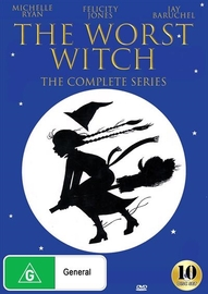 The Worst Witch - Complete Series (Seasons 1-3) on DVD image