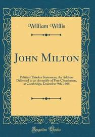 John Milton by William Willis image