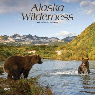 Alaska Wilderness 2019 Square by Inc Browntrout Publishers image
