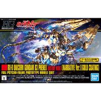 HGUC 1/144 Unicorn Gundam 03 Phenex (Destroy Mode) (Narrative Ver.) [Gold Coating] - Model Kit