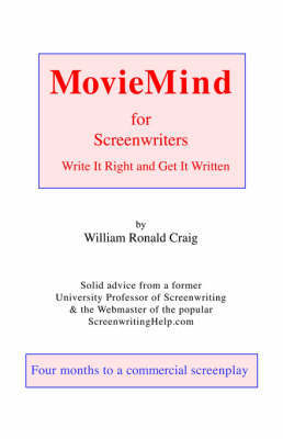 MovieMind for Screenwriters by W R Craig image