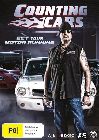 Counting Cars: Get Your Motor Running on DVD