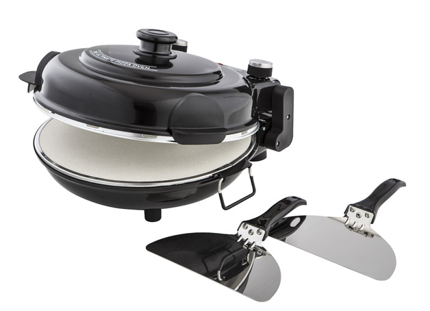 MasterPro: The Ultimate Pizza Oven (38.5x33x19cm/2 Paddles)