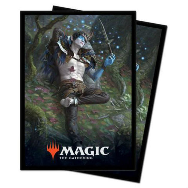 Ultra Pro: Magic The Gathering Deck Protector: Throne of Eldraine Oko, Thief of Crowns