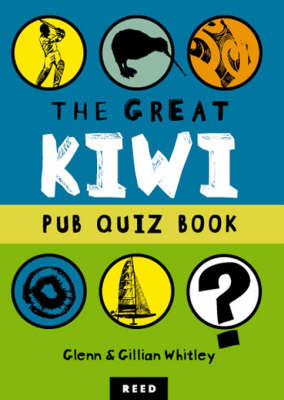 The Great Kiwi Pub Quiz Book by Gillian Whitley image