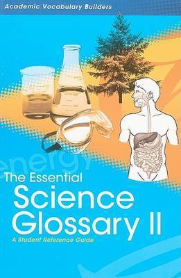 Essential Science Glossary 2 by Red Brick Learning