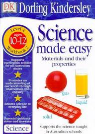 Science Made Easy Workbook 2: Materials & Their Properties (Level 4: Age 10-12) by Et Al Evansmike image
