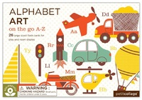 Petit Collage - Alphabet Art - Transport