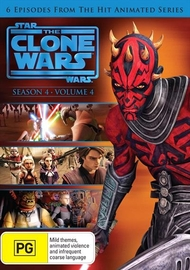 Star Wars The Clone Wars - Season 4 Volume 4 on DVD