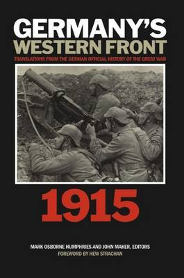 Germany's Western Front: 1915 image