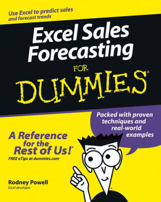 Excel Sales Forecasting For Dummies by Conrad George Carlberg image