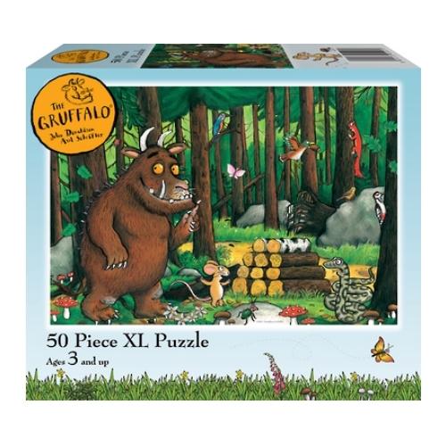 Holdson: Kids Gruffalo - Why Snake Hello 50 Piece XL Puzzle image