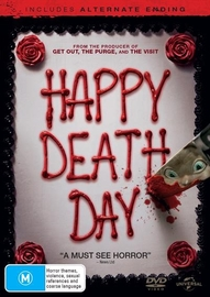 Happy Death Day on DVD
