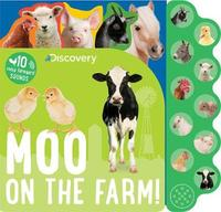 Discovery Moo on the Farm! by Parragon Books Ltd image