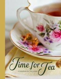 Time for Tea Vintage Rose Tea Cup a Blank Notebook Journal for Tea Lovers by Ahri's Notebooks & Journals