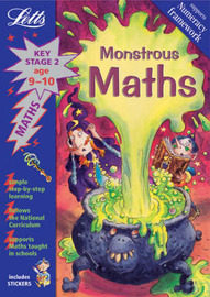 Monsterous Maths by Lynn Huggins Cooper image