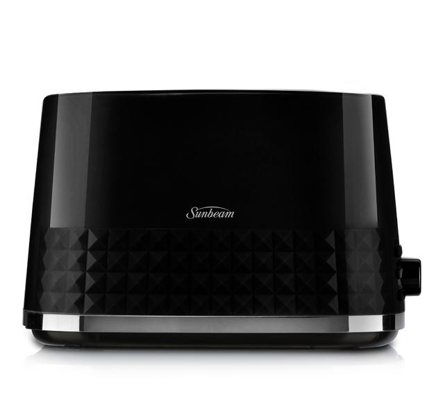 Sunbeam: Diamond Collection 2 Slice Toaster - Black