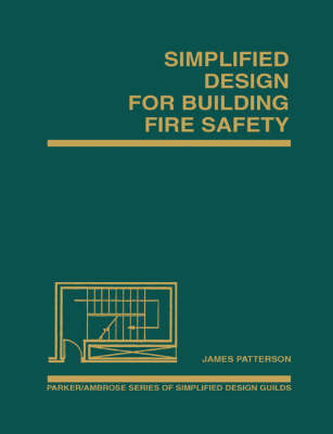 Simplified Design for Building Fire Safety by James Patterson image