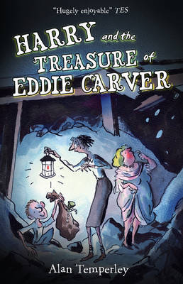 Harry and the Treasure of Eddie Carver by Alan Temperley image
