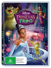 The Princess and the Frog DVD image