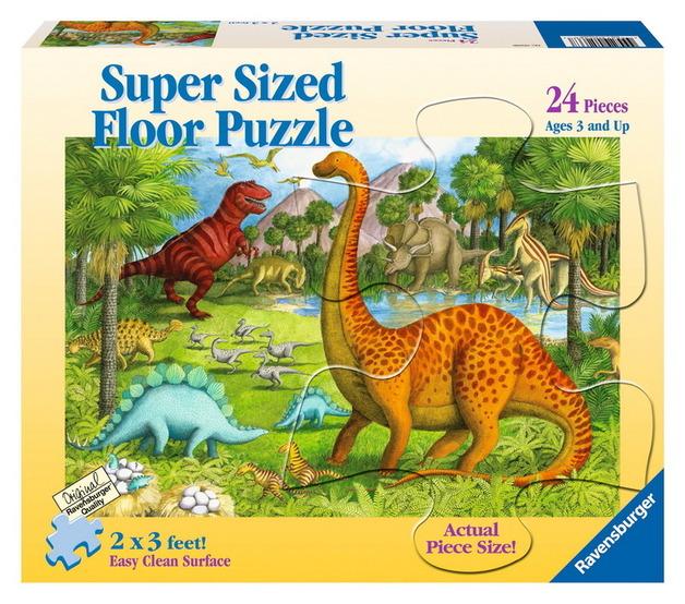 Ravensburger 24 Piece Super Size Jigsaw Puzzle - Dinosaur Pals