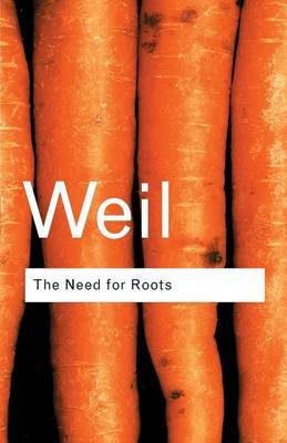 The Need for Roots by Simone Weil image