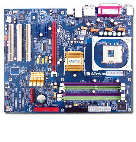 Albatron Motherboard PX915P4C PRO S478 LAN+5.1SND image