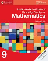 Cambridge Checkpoint Mathematics Coursebook 9 by Greg Byrd