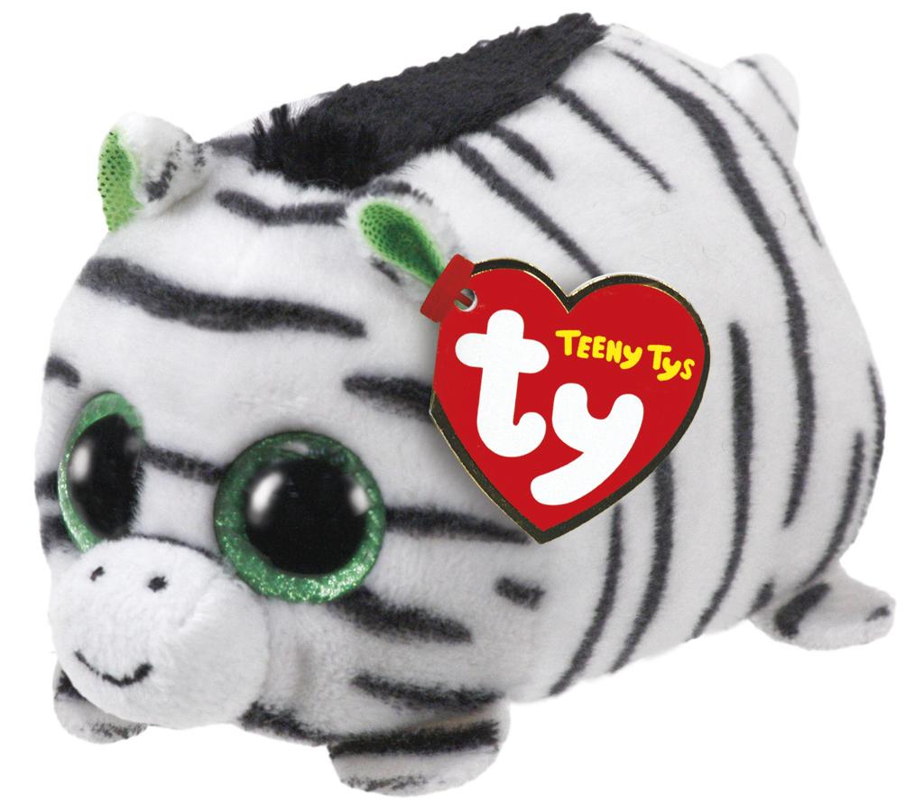 Ty Teeny: Zilla Zebra - Small Plush image