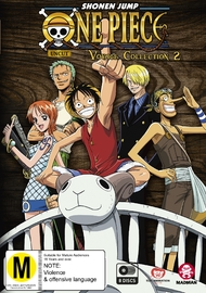 One Piece: Voyage - Collection 2 (Episodes 54-103) on DVD image